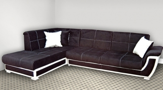Upholstered corner suite
